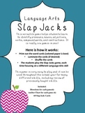 Language Arts Slap Jacks Game {Six Games In One!}