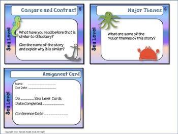 FREE LANGUAGE ARTS TASK CARDS: DIFFERENTIATION 3 LEVELS, GRADES 4-8