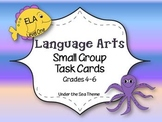 FREE LANGUAGE ARTS TASK CARDS: DIFFERENTIATION 3 LEVELS, G