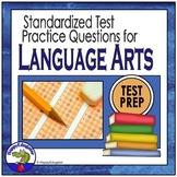 TEST PREP Language Arts Review - ELA Standardized Test Practice PowerPoint
