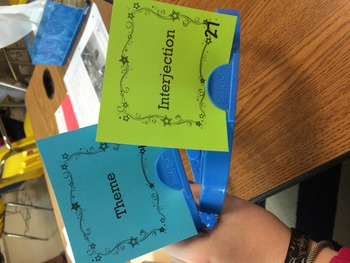 Language Arts Standardized Test Vocabulary Review Game