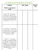 Language Arts Standards Checklist