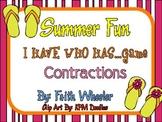 Summer Fun Flip Flop Contractions