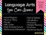 Language Arts Task Card Bundle