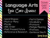 Language Arts Task Card Bundle