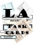 Language Arts Task Cards-Grammar & Usage