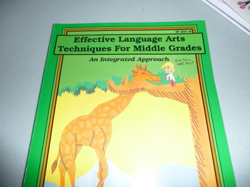 Language Arts Techniques for the middle grades