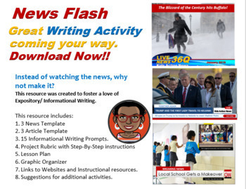 "Language Arts/Technology: ""Kids News Network""  Grades 2-12"