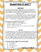 Language Arts Test Prep (Character Traits and Text Analysis) Task Cards Set 15