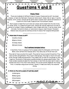 Language Arts Test Prep (Connect., Predict., Cause and Effect) Task Cards Set 8