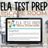 Language Arts Test Prep Digital Escape Room Google Apps