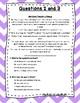 Language Arts Test Prep (Inferences, Main Ideas, Details) Task Cards Set 13