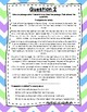 Language Arts Test Prep (Main Idea, Author's Purpose) Task Cards Set 10