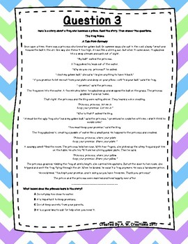 Language Arts Test Prep (Narr, Analy, Proband Sol, Story Elem) Task Cards Set 21