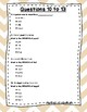 Language Arts Test Prep (Suffixes, Synonyms,and Antonyms) Task Cards Set 7