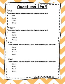 Language Arts Test Prep (Syn., Ant., Cont. Clues, and Vowels.) Task Cards Set 4