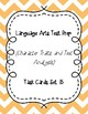 Language Arts Test Prep Task Cards Set #15 (Character Traits and Text Analysis)