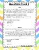 Language Arts Test Prep Task Cards Set #20 (Story Elements)