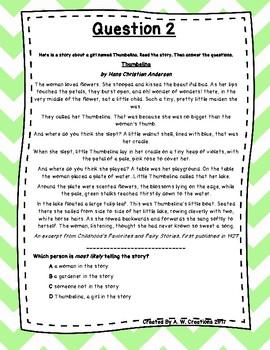 Language Arts Test Prep (Theme, Narrator, Text Analysis) Task Cards Set 17