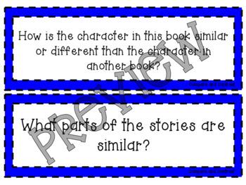 Language Arts Test Question Strips