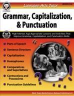 Language Arts Tutor: Grammar, Capitalization, and Punctuation, Grades 4 - 8