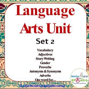 Language Arts Unit - Set 2 _ Updated