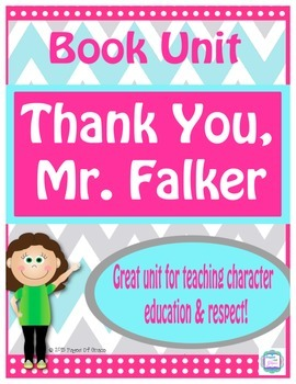 Book Unit---Thank You, Mr. Falker by Patricia Polacco