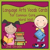 Language Arts Vocabulary Cards (2nd Grade Common Core)