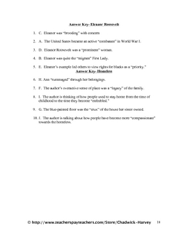 Language Arts Vocabulary Quiz Worksheets- A Year's Worth for 7th Grade