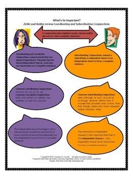 Grammar Activity - What's so Important? A Coordination/ Subordination Activity