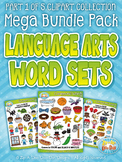 Language Arts Word Sets Clipart Mega Bundle Part 1 {Zip-A-Dee-Doo-Dah Designs}