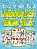 Language Arts Word Sets Part 2 Clipart Mega Bundle Pack —