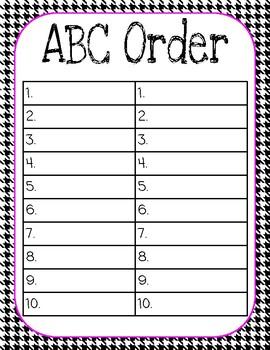 Language Arts: Word Work Choice Board