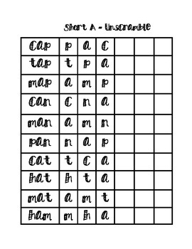 Language Arts Work Pack-First Grade