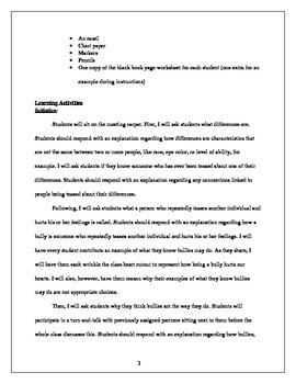 Language Arts-Writing Acceptance Lesson