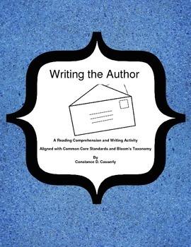 Writing Activity: Writing the Author