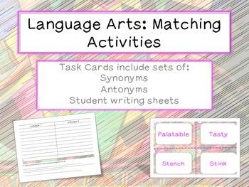 Common Core Language Arts Activities