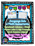 Language Arts and Math Assessments - Kindergarten (Benchma