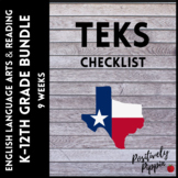 Language Arts and Reading Vertical TEKS Checklist K-8