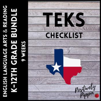 Language Arts and Reading Vertical TEKS Checklist K-8