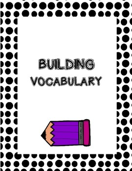 Language Arts-building vocabulary