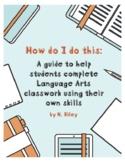 Language Arts differentiated activity resource