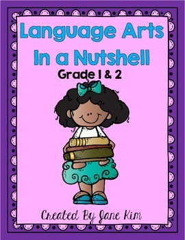 Language Arts in a Nutshell- Grade 1 & 2 Daily Language Practice