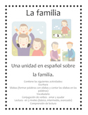Language Arts unit on the family in Spanish (La familia en español)