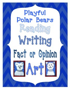 Language Arts with Polar Bear Art Project