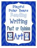 Language Arts with Polar Bear Art Project