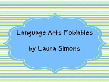 Language Arts/Grammar Foldables