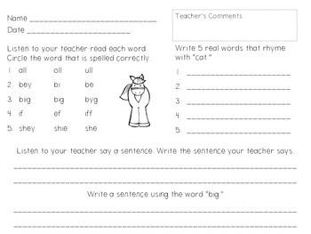 Language Assessments, Volume 1