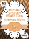 Language BINGO Pack: Halloween Edition