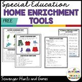 Language-Based Distance Learning: Home-Based Instruction T